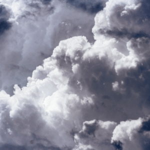 An ominous formation of clouds - 'bad' weather