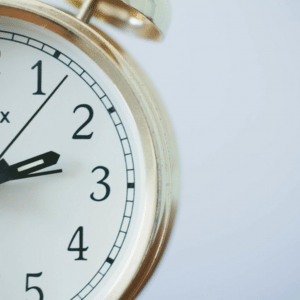 An image of a clock - the most vital tool for time management