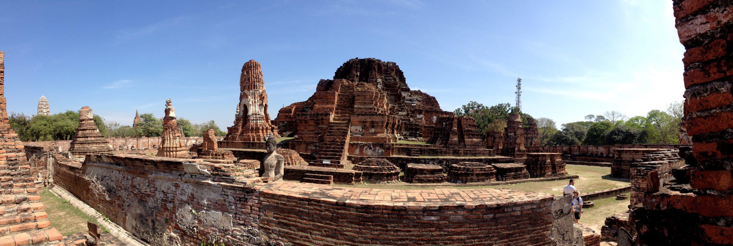 Panorama of Ayutthya