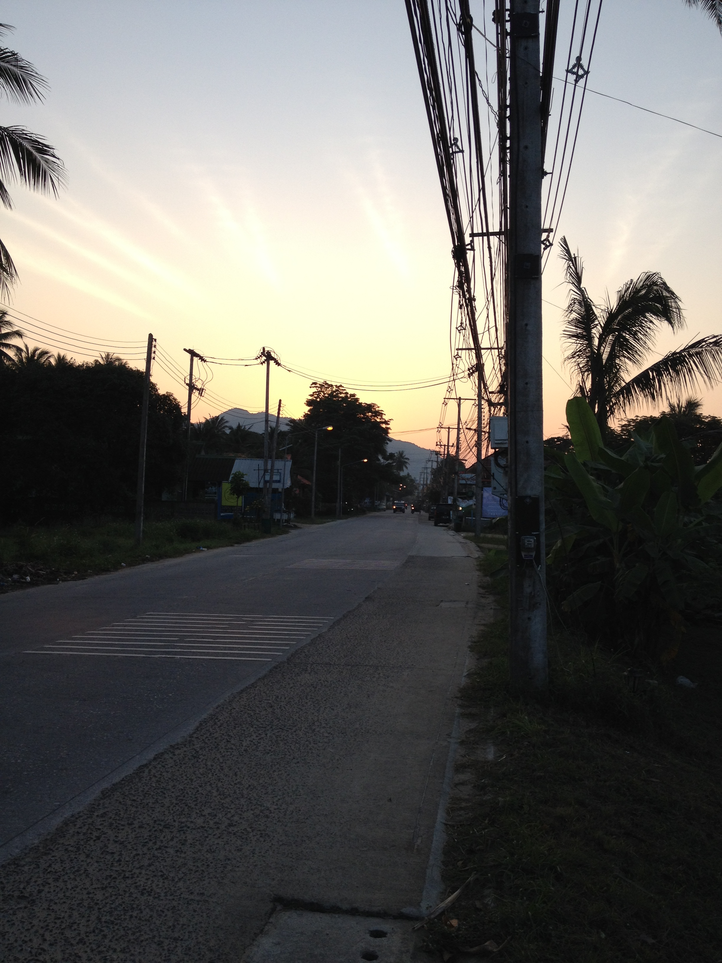 Sunrise after Full Moon Party in Koh Phangan