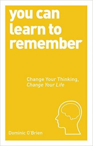 The cover of the book You Can Learn to Remember by Dominic O'Brien