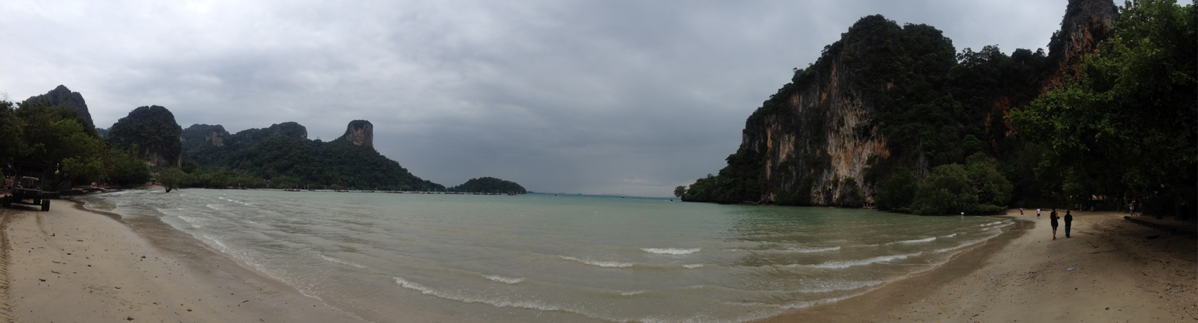 A panorama of Railay East Beach