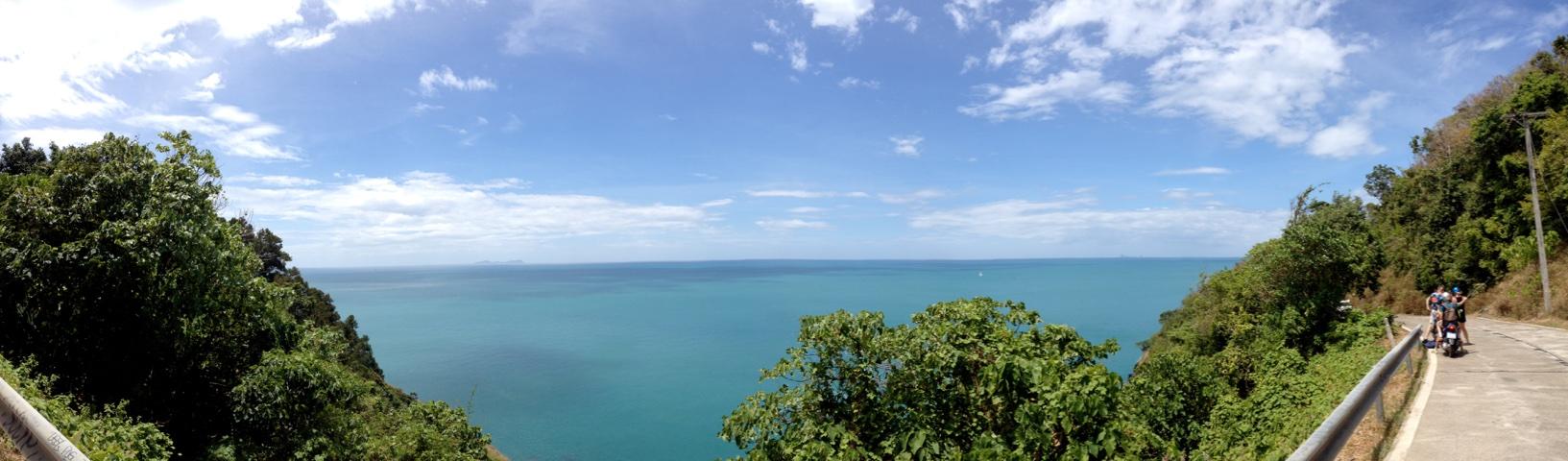 A panorama from Ko Lanta