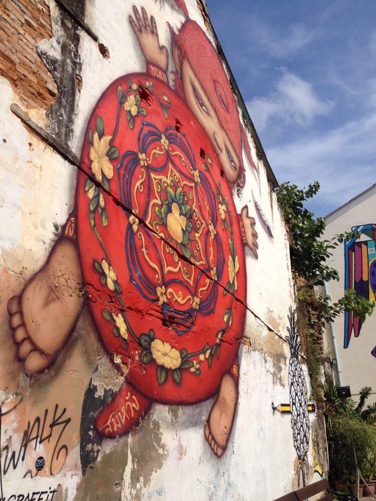 Graffiti from Phuket old town