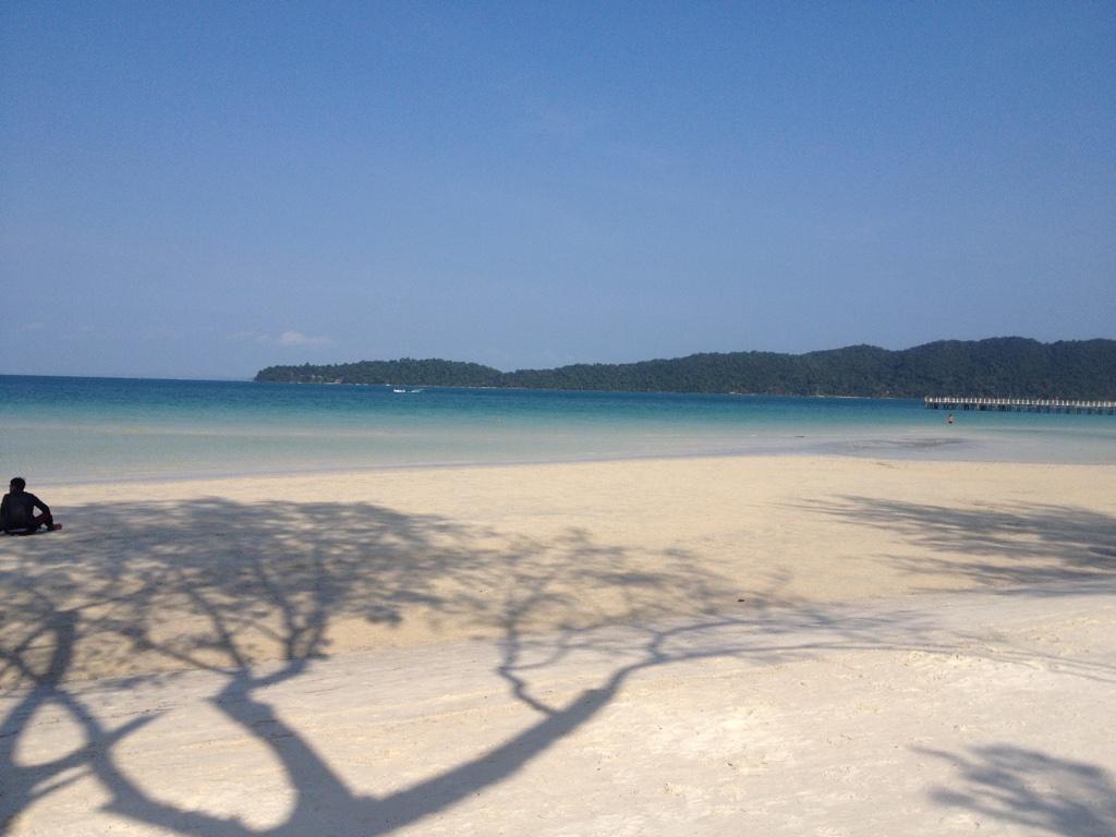 Saracen Bay on Koh Rong Samloem