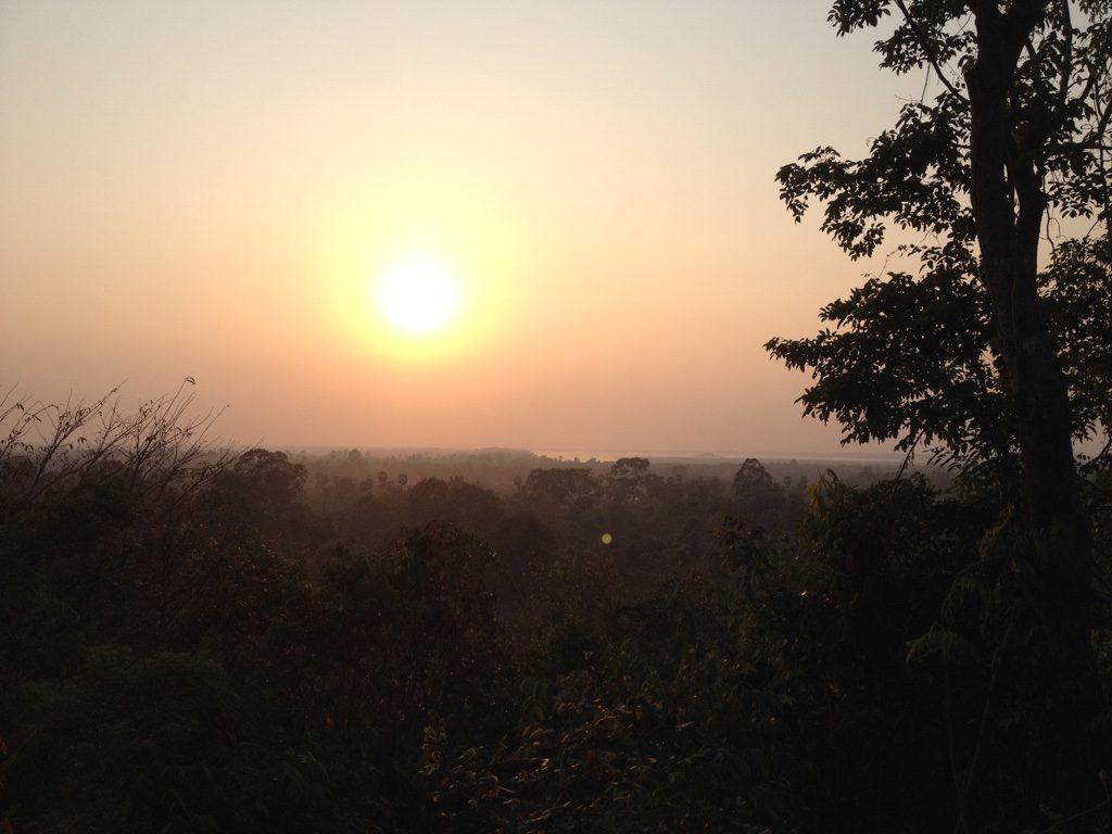 Sunset at Phnom Bakheng, Angkor Wat