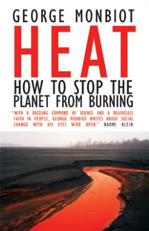 The cover of the book Heat by George Monbiot