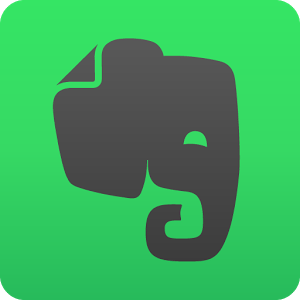 The logo for Evernote, the note-taking app that helps take the strain off your memory and improve your productivity