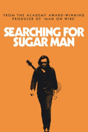A poster for the film Searching for Sugar Man