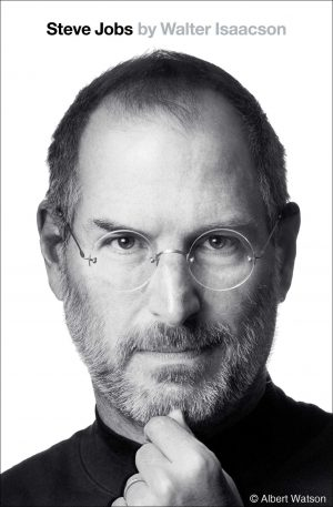 The cover of Steve Jobs: The Exclusive Biography by Walter Isaacson
