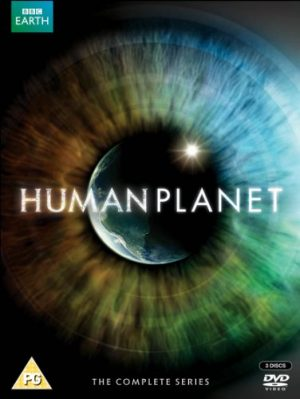 The cover of the DVD for Human Planet, the BBC series on the incredible environments in which people manage to live