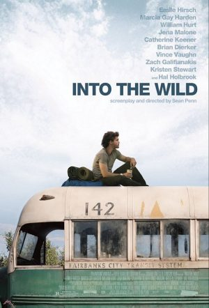 The cover of the DVD of Into the Wild, the story of Christopher McCandleless