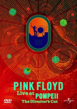 The cover of the DVD for Pink Floyd: Live at Pompeii, the film of Pink Floyd's 1971 show at the ancient amphitheatre in Pompeii.