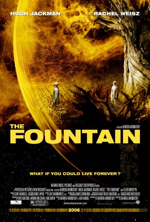 The cover of the DVD for The Fountain, a film by Darren Aronofsky