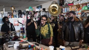 The Roots featuring Bilal perform an NPR Tiny Desk Concert.