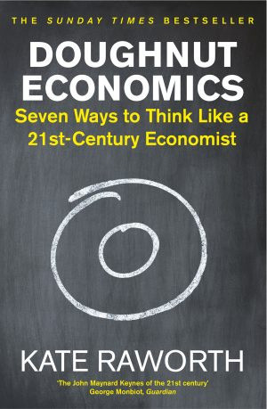 The cover of Doughnut Economics by Kate Raworth