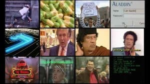 A screen capture from Adam Curtis' documentary HyperNormalisation