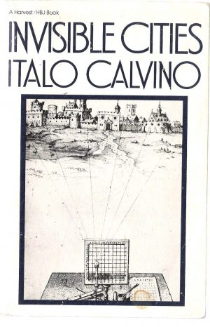 The cover of Invisible Cities by Italo Calvino
