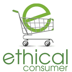 The logo for Ethical Consumer, a website dedicated to helping consumers making ethical, informed decisions