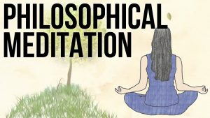 A still from the video Philosophical Meditation from the School of Life YouTube channel