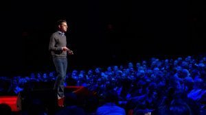 Josh Foer presenting his TED talk on feats of memory anyone can do