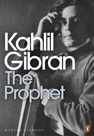The cover of the book The Prophet by Khalil Gibran
