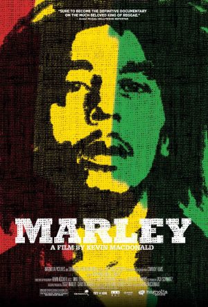 The cover of the DVD for Marley, the film about Bob Marley's life