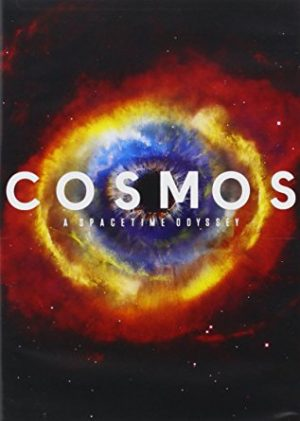 The cover of the DVD for Cosmos: A Spacetime Odyssey, the 2014 follow-up to Carl Sagan's original series on the Universe