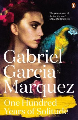 The cover of the book One Hundred Years of Solitude by Gabriel García Márquez