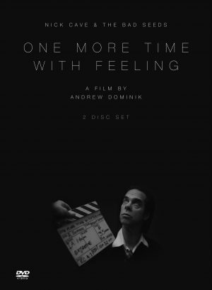 The cover of the DVD of One More Time with Feeling, the documentary tracking the creation of the Nick Cave and the Bad Seeds album Skeleton Cave