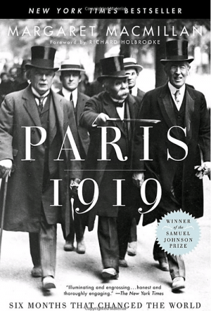 The cover of Paris 1919 by Margaret MacMillan