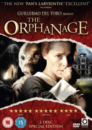The cover of the DVD of The Orphanage, the horror film from J. A. Bayona