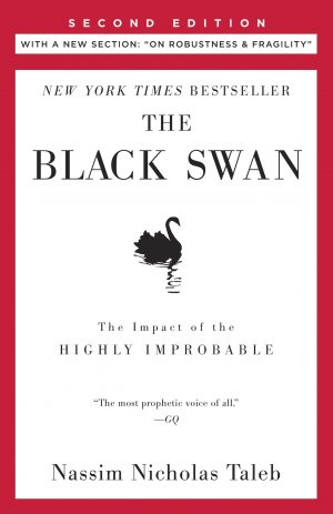 The cover of The Black Swan by Nassim Nicholas Taleb